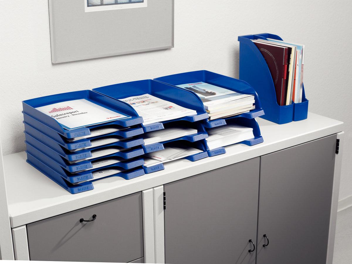 Leitz Plus Standard brevbakke, sort