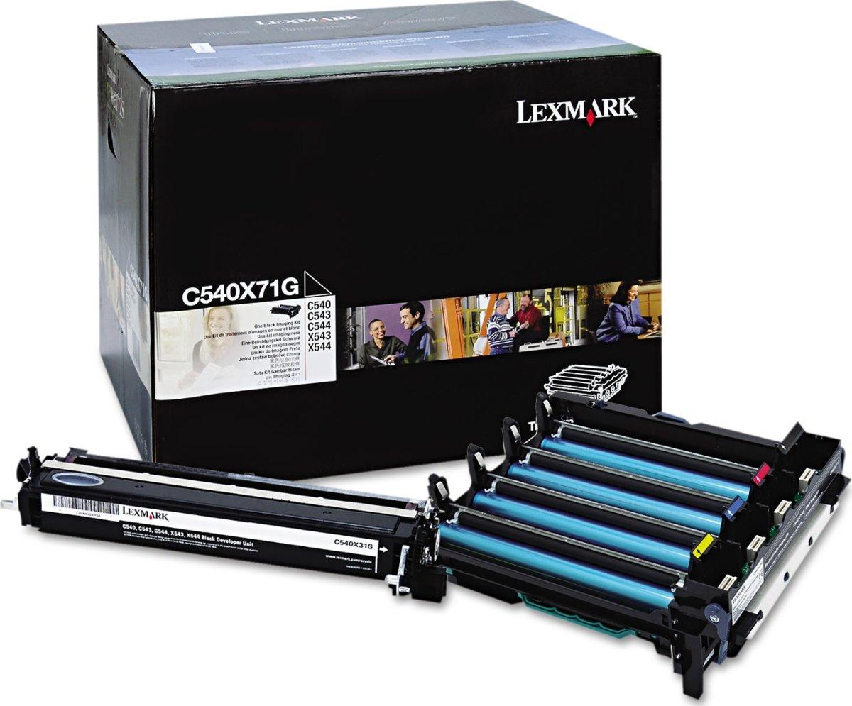 Lexmark 0C540X71G imaging kit, sort, 30000s