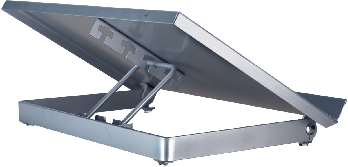 Twinco Konceptholder 7700 twin base 2, sølv