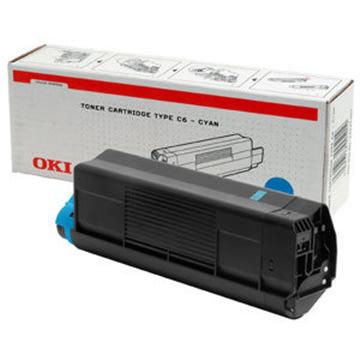 OKI 42127407 lasertoner, blå, 5000s
