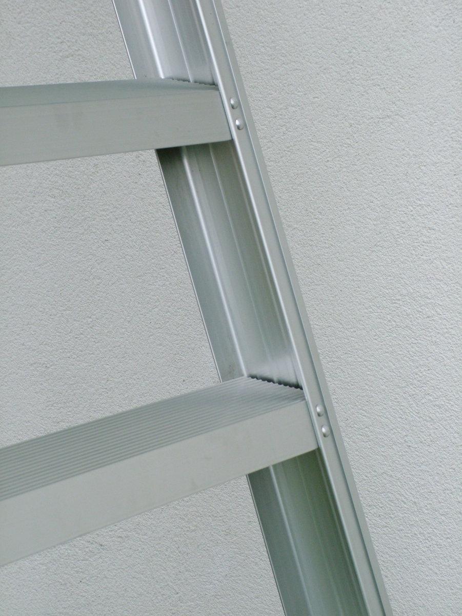 Wienerstige 2x6 - 80 mm dybe trin - Højde 1,44 m