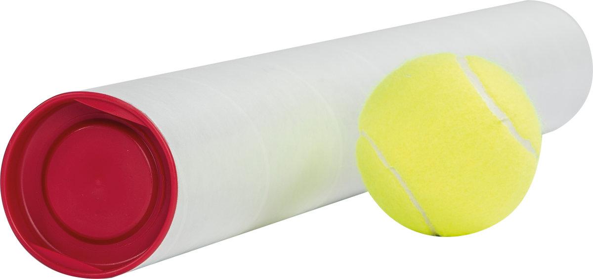 Paprør med låg, Ø50 x 2,0 x 450 mm