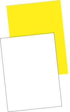 Plakatpapir 70x100 (250), hvid