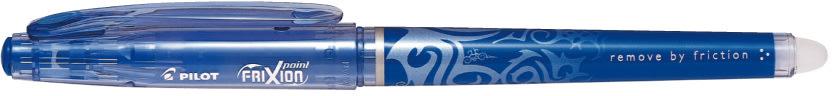 Pilot Frixion Point kuglepen, blå