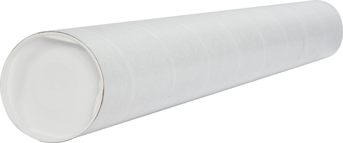 Paprør med låg, Ø100 x 2,0 x 1150 mm