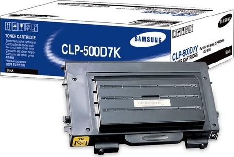 Samsung CLP-500D7K lasertoner, sort, 7000s