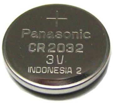 Panasonic CR2032 knapcelle batteri