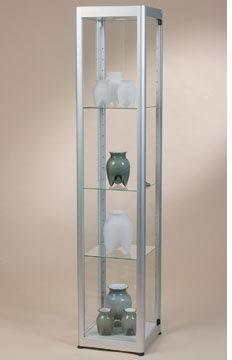 Glasmontre prezent 1, sølv