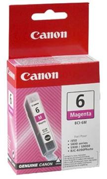 Canon BCI-6M blækpatron, rød, 280s