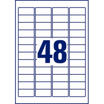 Avery L4778-20 stærke etiketter, 45,7 x 21,2mm