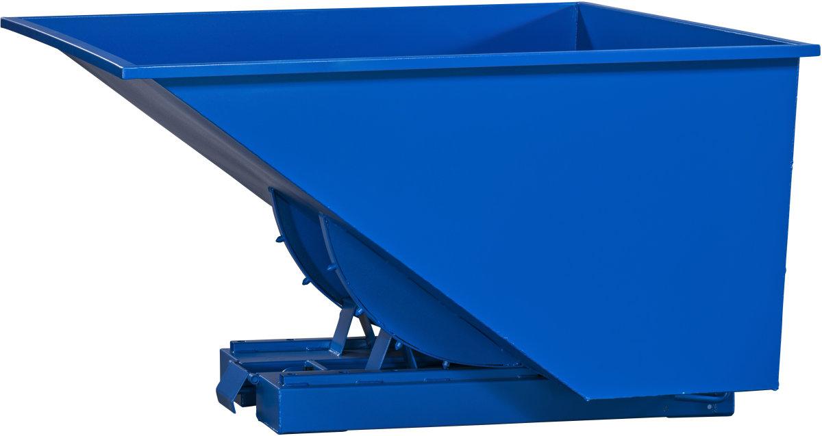 Tipcontainer 2500 l blå