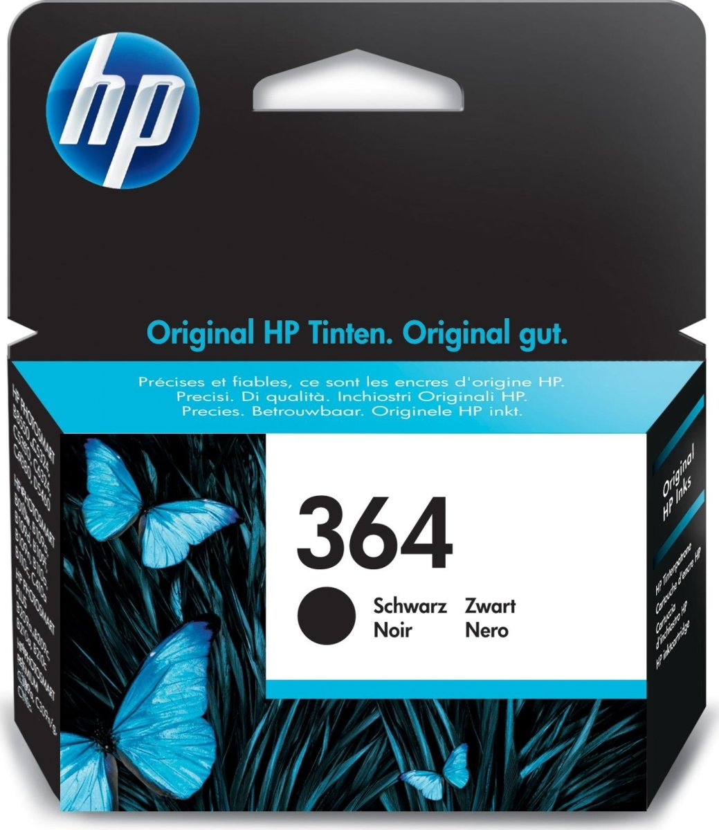 HP nr.364/CB316EE blækpatron, blister, sort, 250s