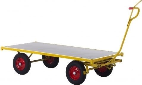 Ravendo transportvogn, 2500x1000x470, Luftgummi