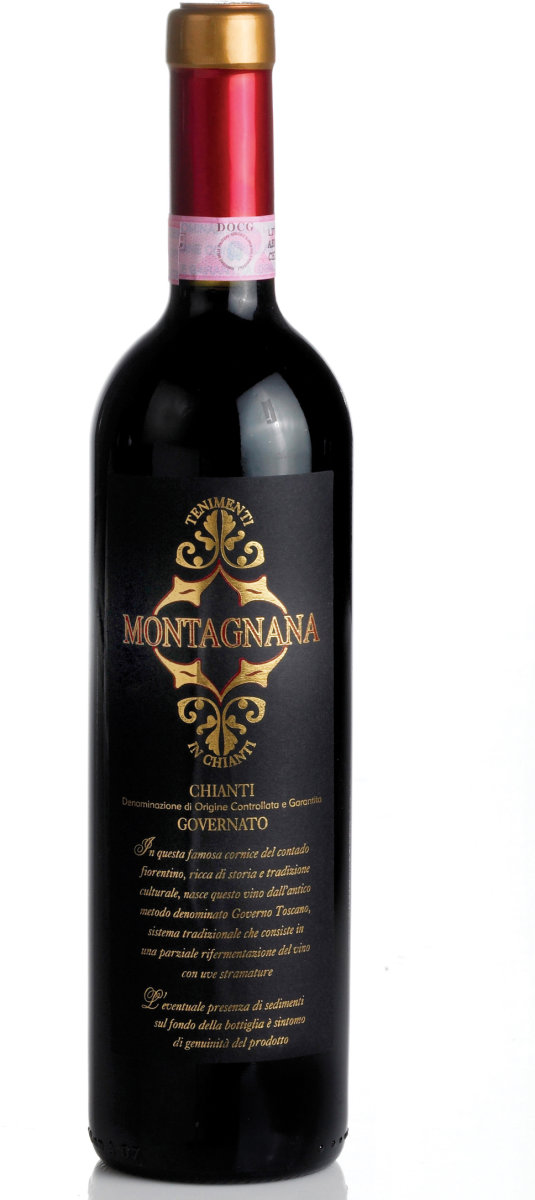Montagnana Chianti Governato, rødvin