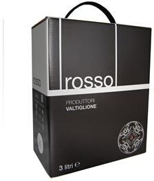 Vino de Tavola Rosso Piemonte, Bag-in-Box, rødvin