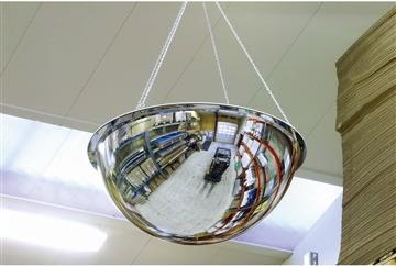 Spejlkuppel akryl 360 grader ø80 cm