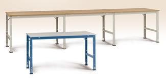 Manuflex prof arb.bord,125x70,Multiplex,Grå,Tilbyg