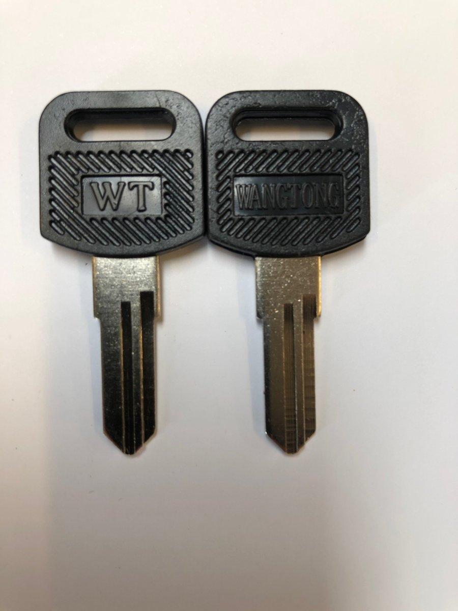 Rånøgle til opbevaringsskab 589965 og 589967