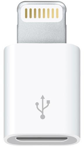 Apple Lightning til Micro USB Adapter