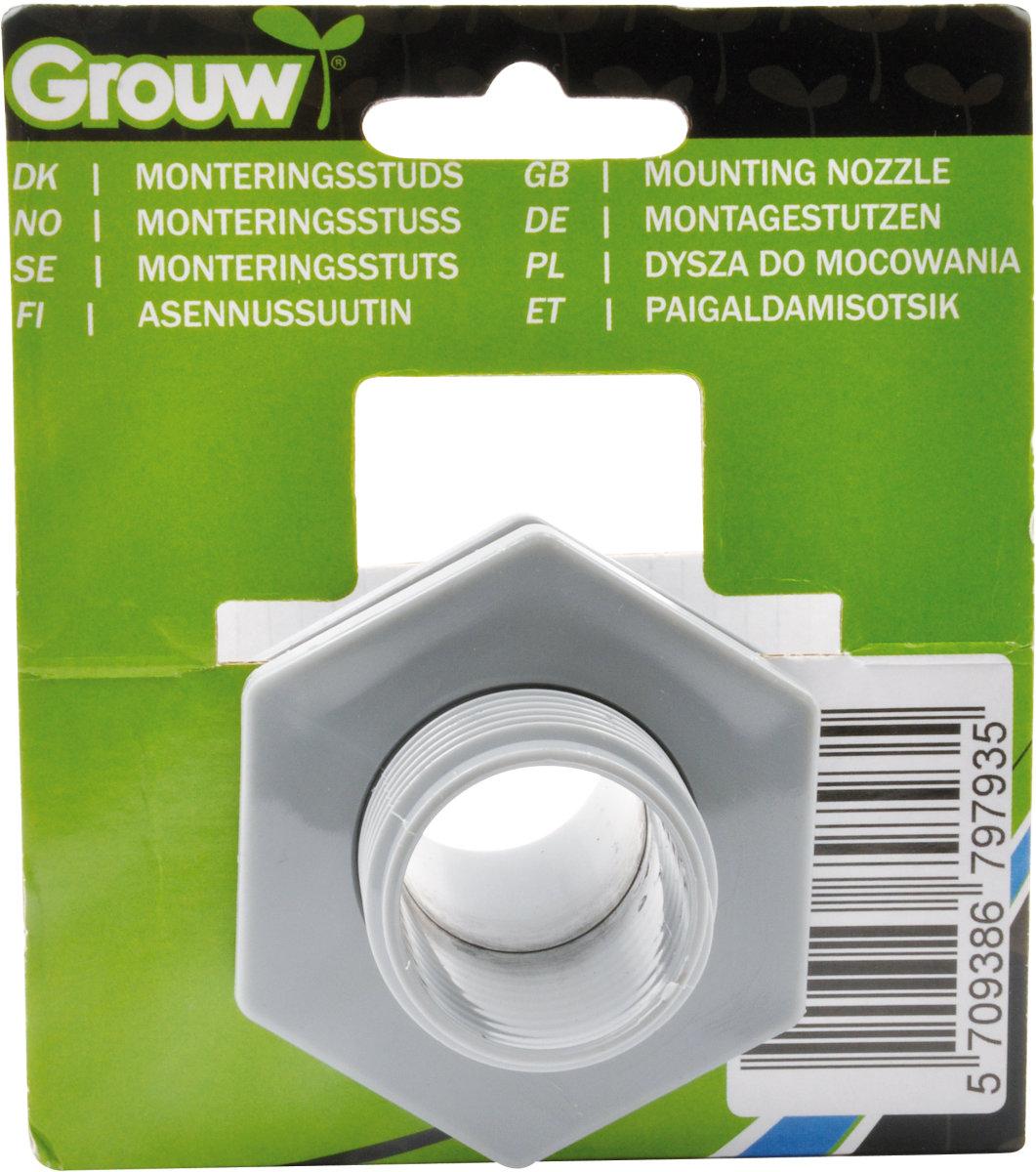 Grouw monteringsstuds t/regnvandsbeholder