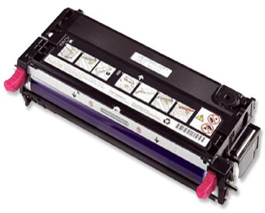 Dell 593-10296 lasertoner, rød, 3000s