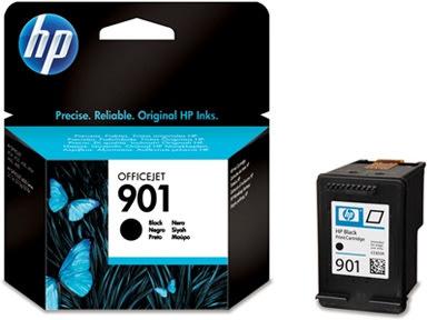 HP nr.901/CC653AE blækpatron, sort, 200s