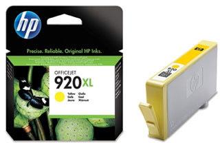 HP 920/CD974AE XL blækpatron, gul, 700s
