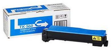 Kyocera TK-560C  lasertoner, blå, 10000s