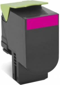 Lexmark 70C2HM0 lasertoner, rød, 3000s