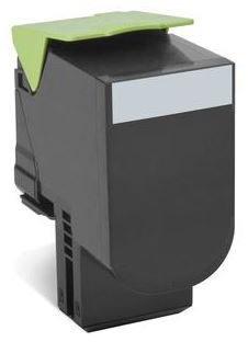 lexmark 80C2XKE lasertoner, sort, 8000s