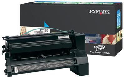 Lexmark C782X1CG lasertoner, blå, 15000s