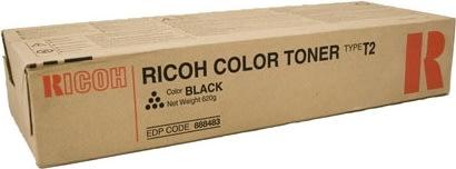 Ricoh 888483 lasertoner, sort, 25000s