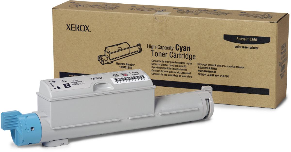 Xerox 106R01218 lasertoner, blå, 12000s
