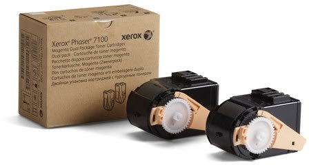 Xerox 106R02603 lasertoner, rød, 2x 4500s
