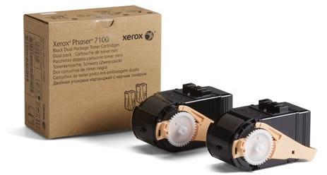 Xerox 106R02605 lasertoner, sort, 2x 5000s