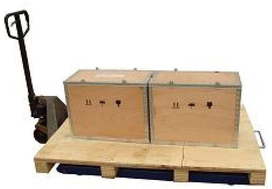 Silverstone pallevægt, 1000 kg