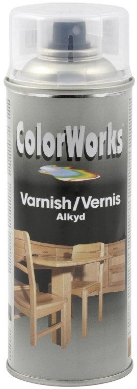 ColorWorks hobbyspray, blank lak