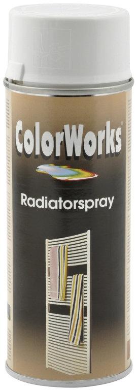 ColorWorks hobbyspray, radiator hvid