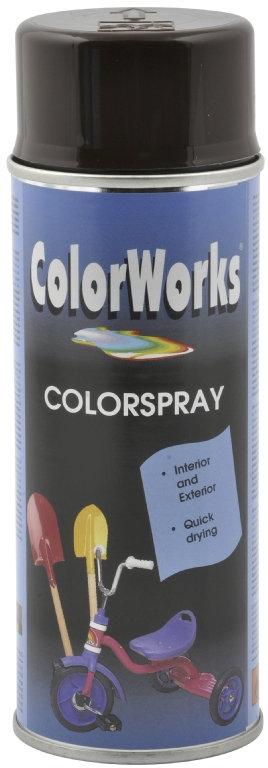 ColorWorks hobbyspray, chokoladebrun