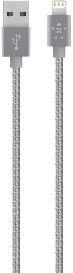 Belkin Premium Lightning USB-kabel, sølv