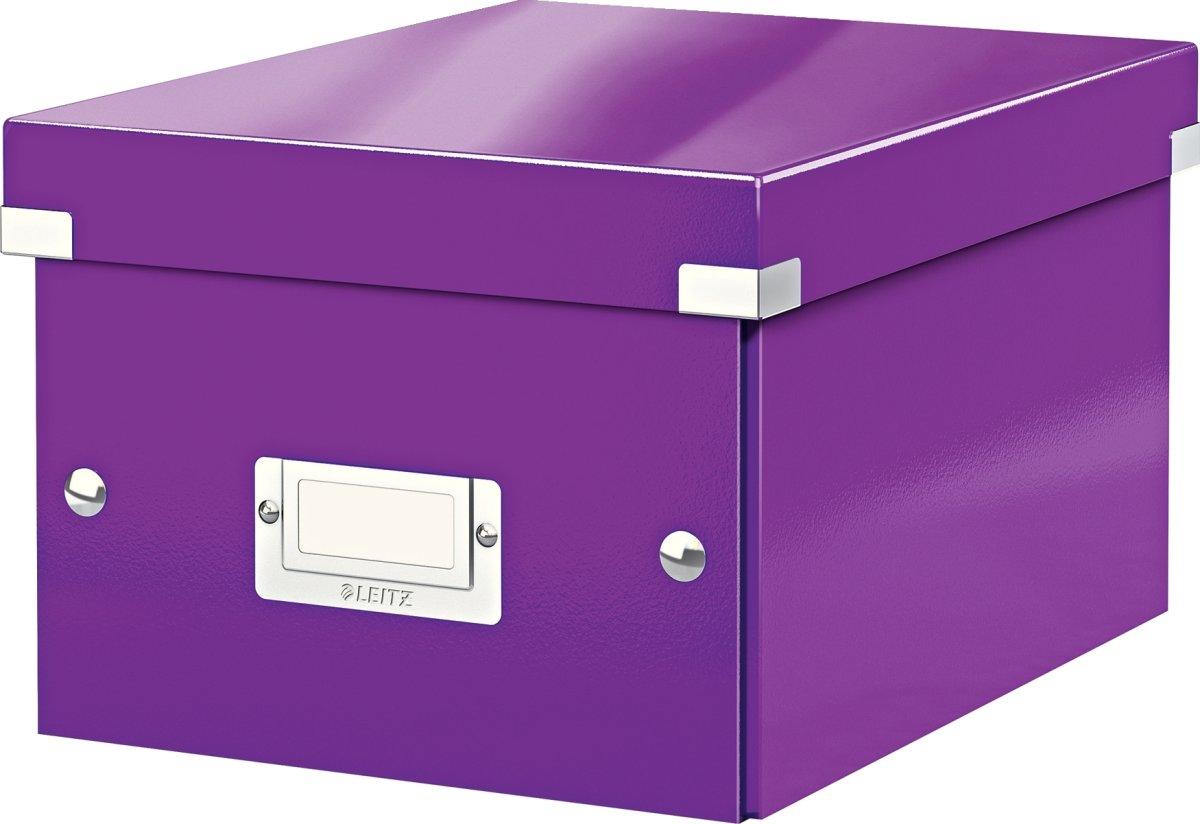 Leitz Click & Store opbevaringsboks small, lilla