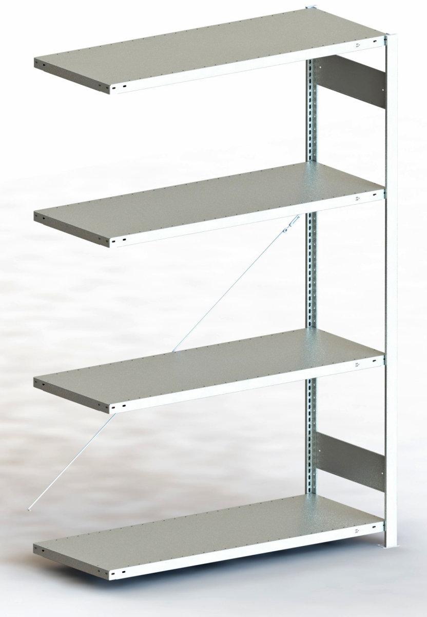 META Clip 200 kg, 200x170x50, Tilbyg, Galvaniseret