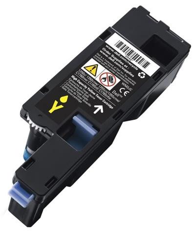 Dell XY7N4 lasertoner, gul, 1000 s.