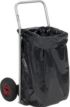 Ravendo affaldsvogn 2-i-1, 580x1100 mm, Lufthjul