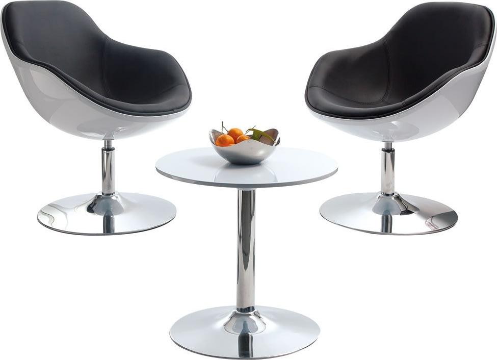 Prato Loungesæt - 2 x stol og 1 x bord