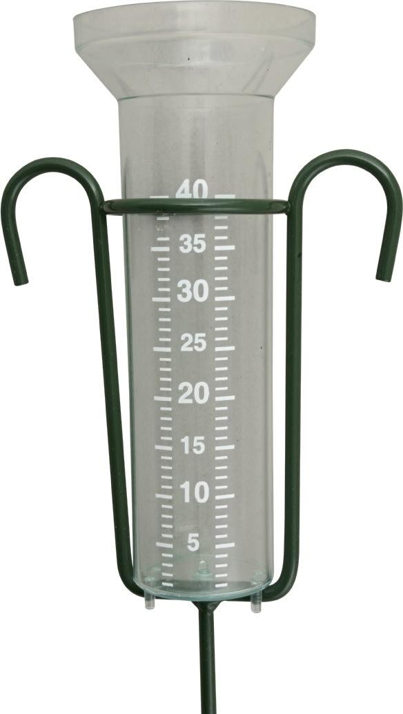 Zline regnmåler i metal m/glas