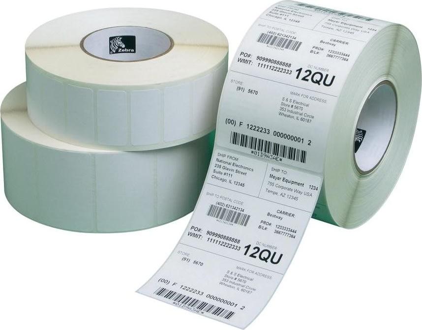 Zebra Label roll, 102x152mm