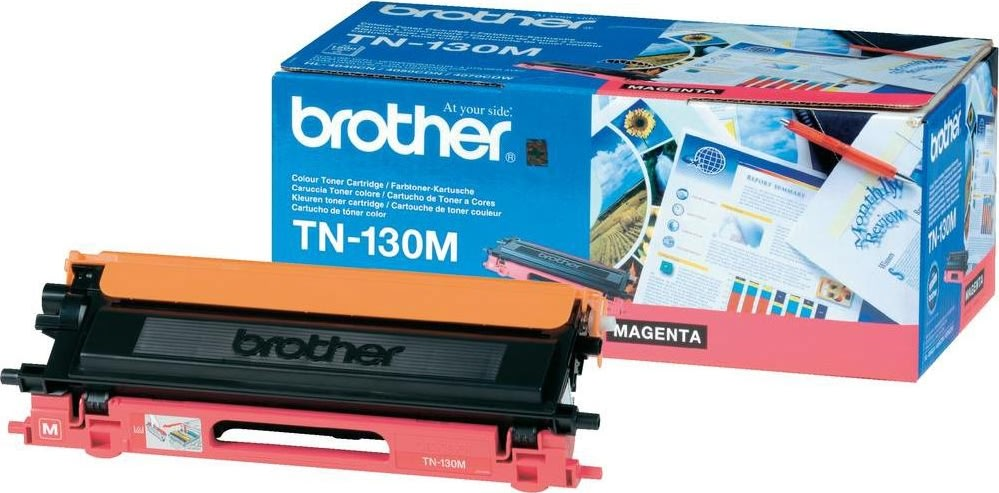 Brother TN130M lasertoner, rød, 1500s