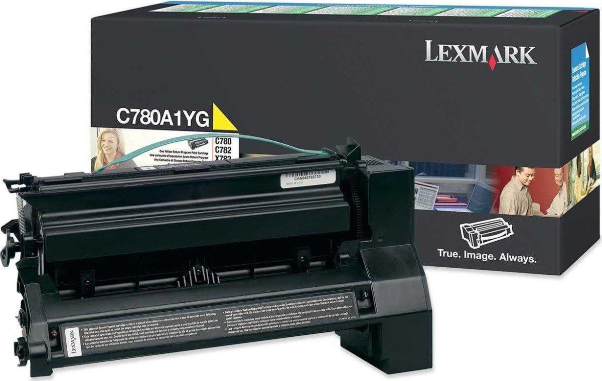 Lexmark C780A1YG lasertoner, gul, 6000s
