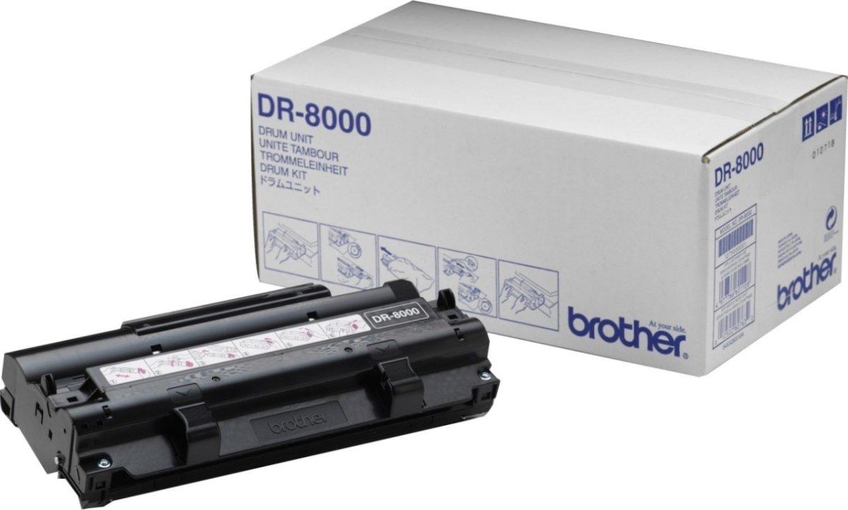 Brother DR8000 lasertromle, sort, 8000s